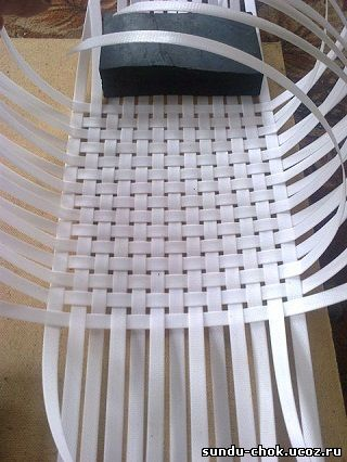 руководство по плетению корзин из упаковочной ленты